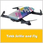 Tekk Selfie and Fly